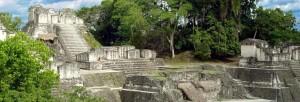 les traces des Mayas
